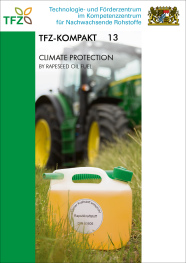 Cover TFZ-Kompakt 13: Climate protection by rapeseed oil fuel