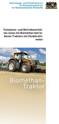 Cover Flyer Biomethan-Traktor